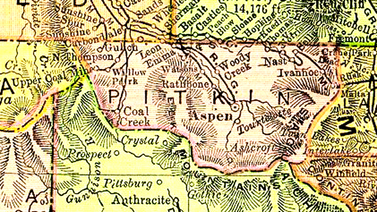 Pitkin County, Colorado   Maps